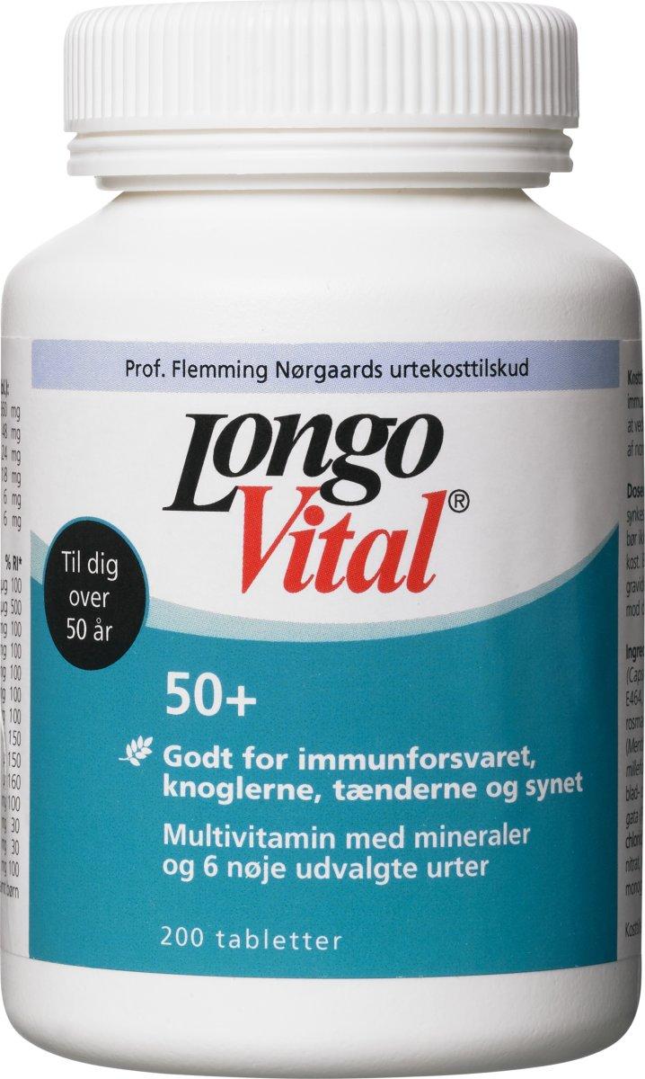 LongoVital 50+, 200 stk
