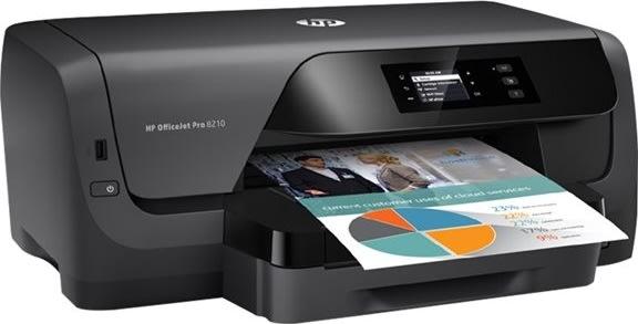 HP Officejet Pro 8210 A4 farveblækprinter