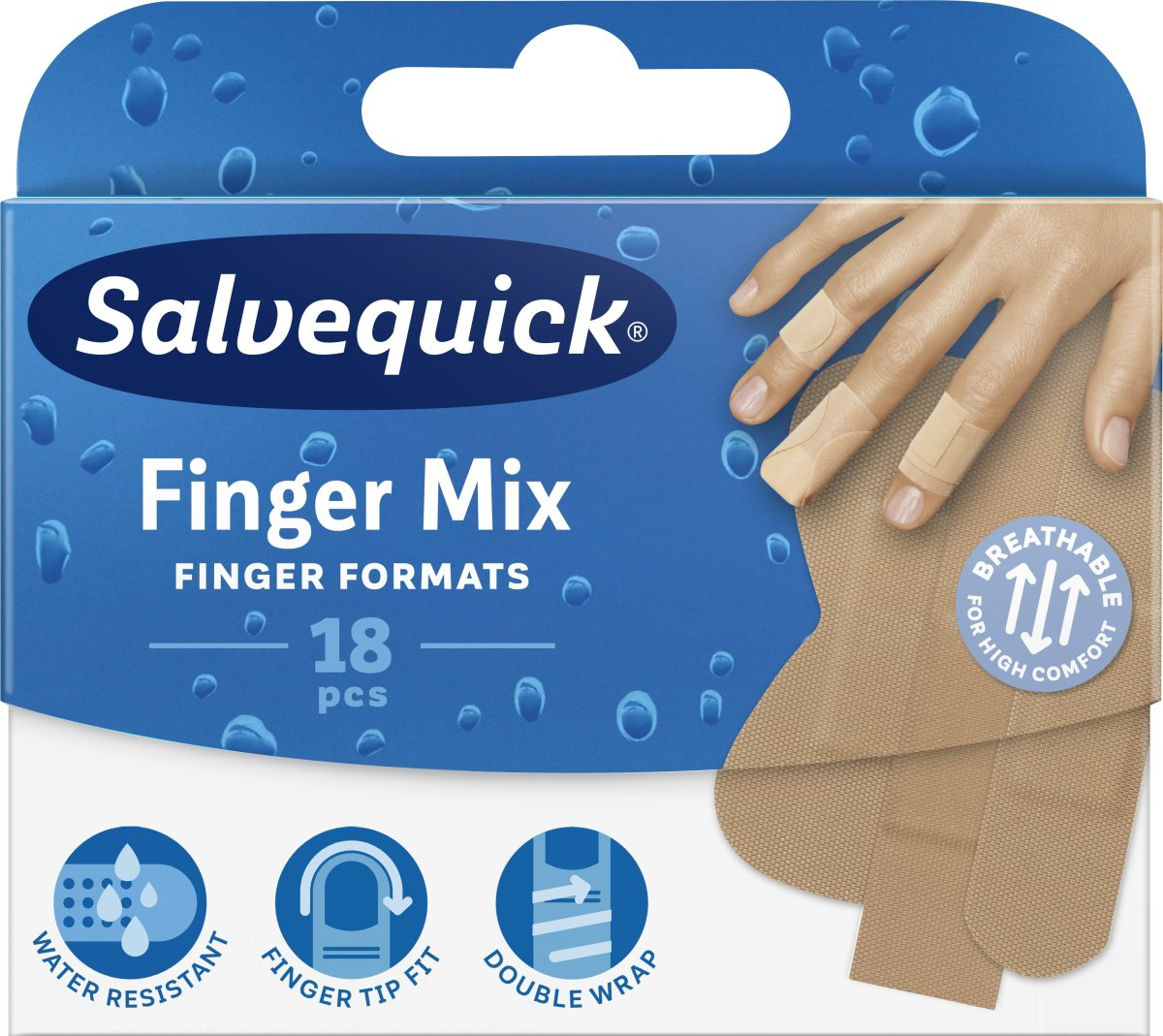 Salvequick Finger Mixed