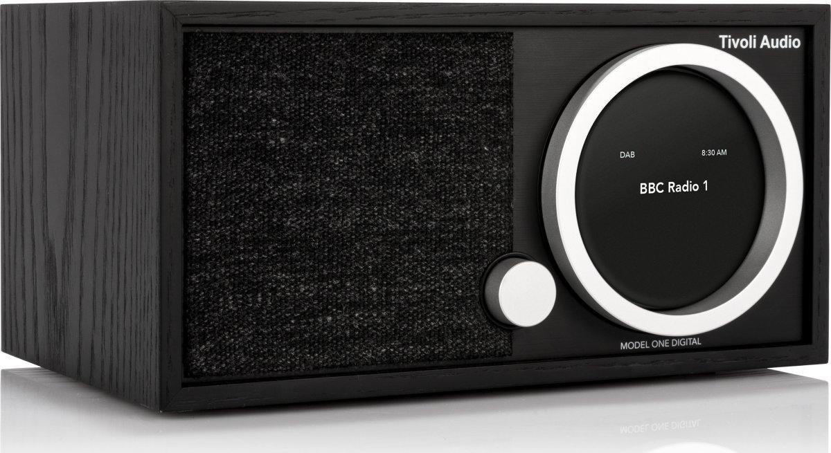 Tivoli Audio One Digital DAB+radio, sort