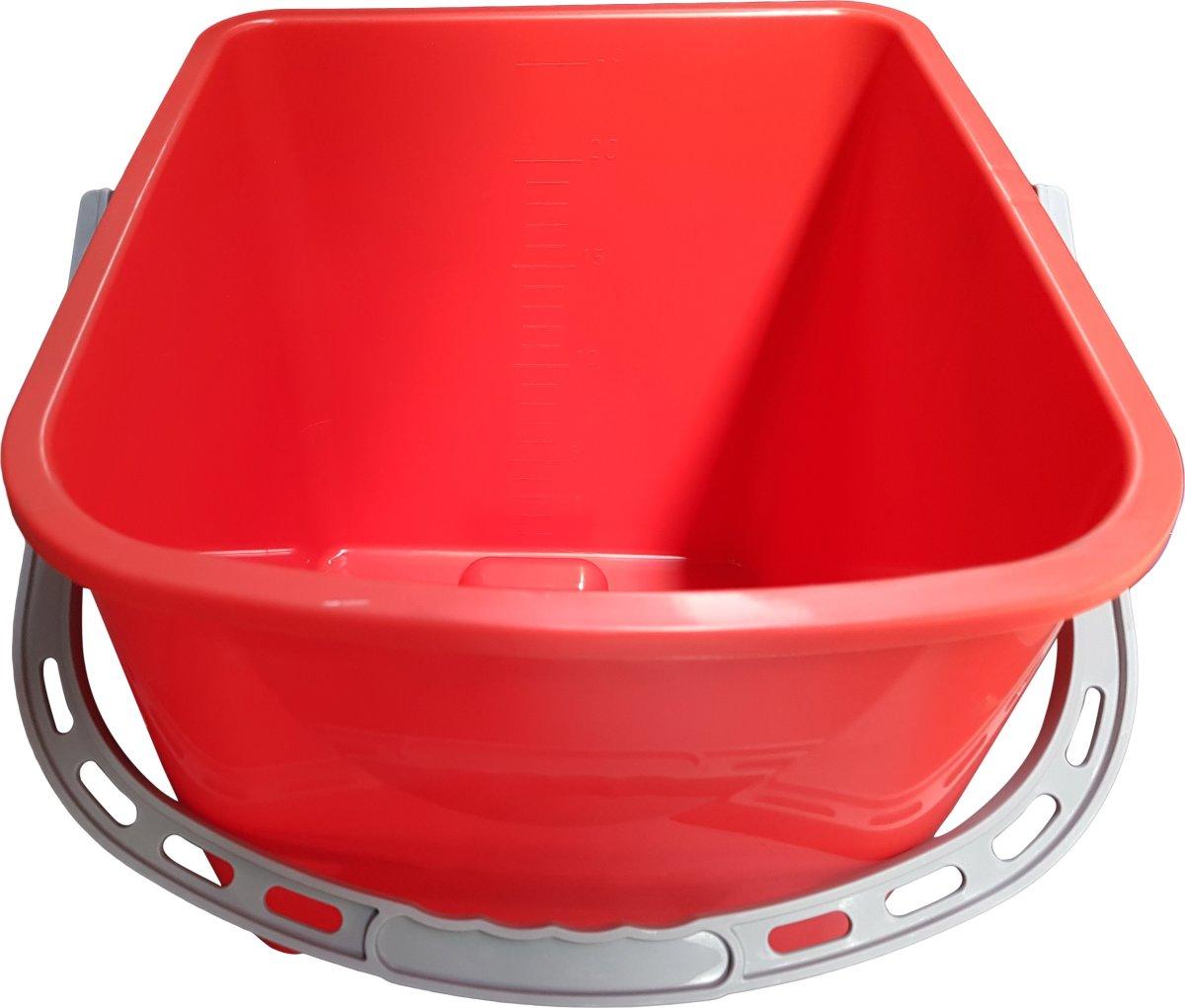Minatol Spand, 25 L, rød