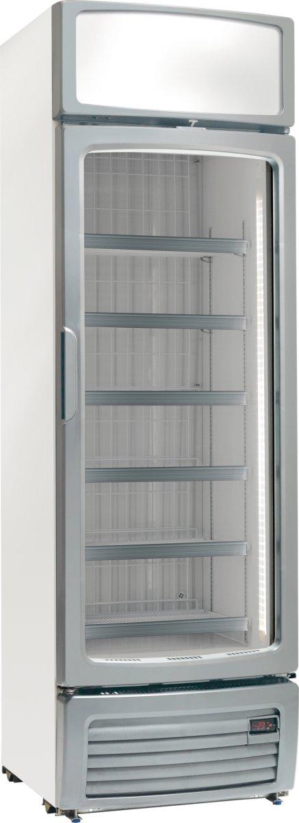 Scandomestic KF 870 Displayfryser, 370 liter