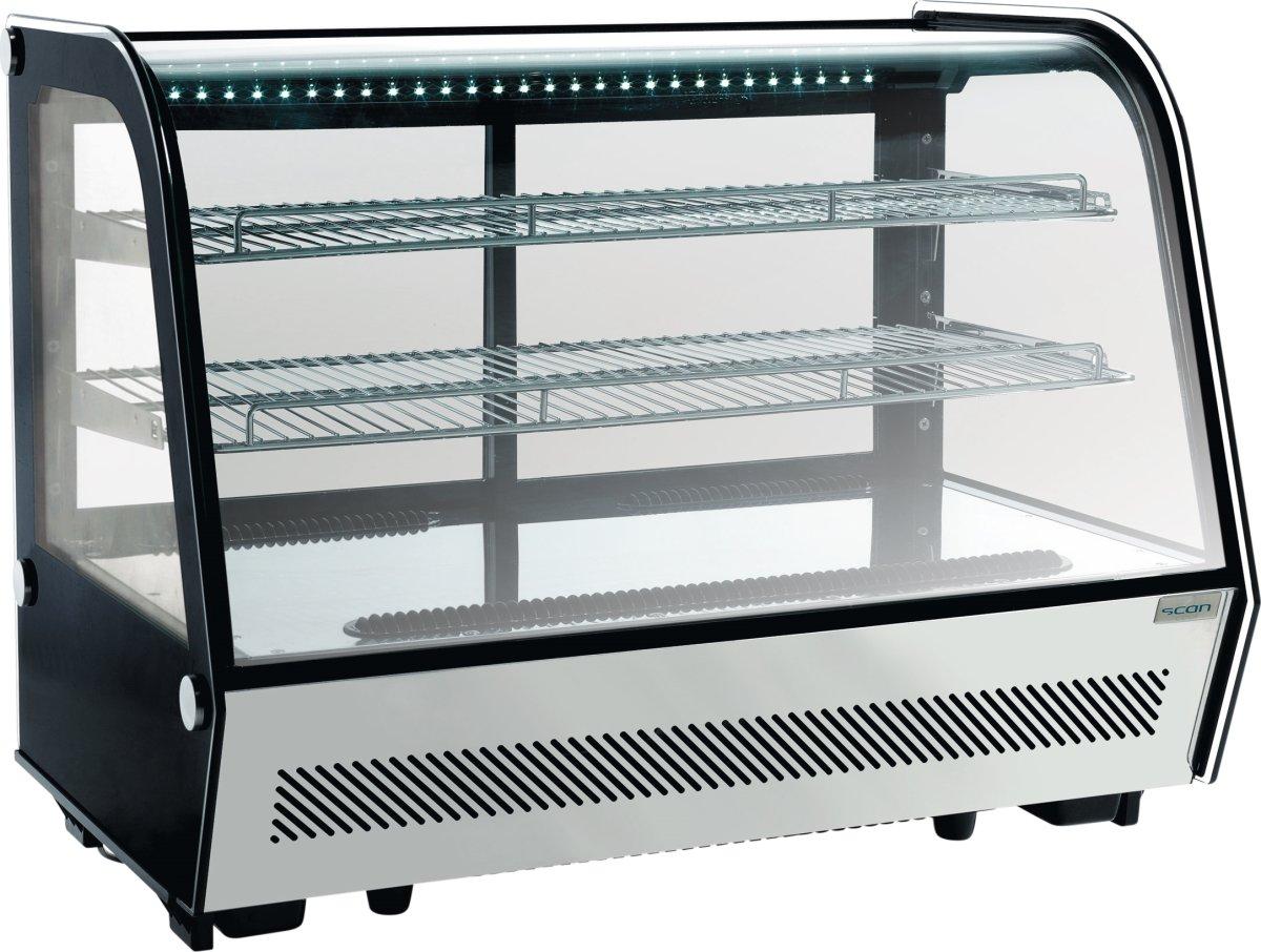 Scandomestic RTW 160 displaykøler, 145 liter