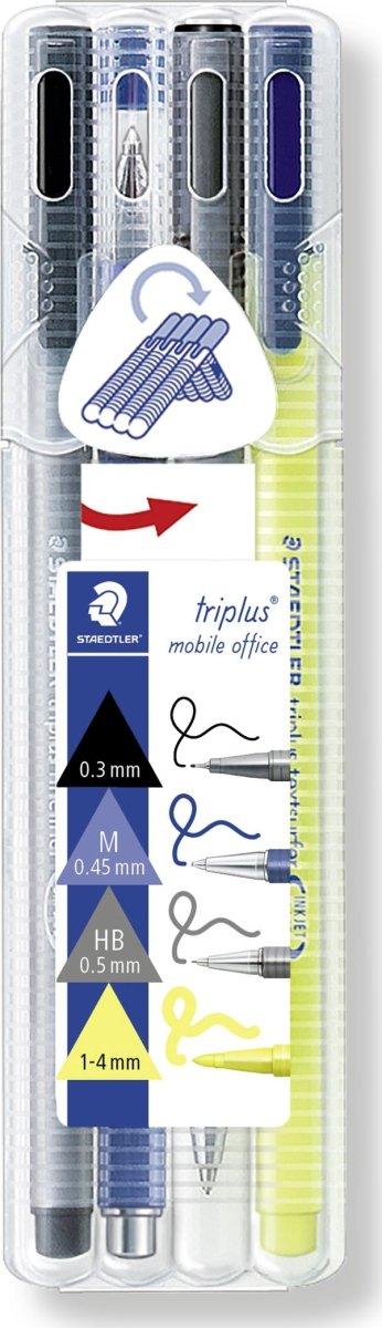 Staedtler triplus Mobile Office Sæt, Ass., 4 stk.