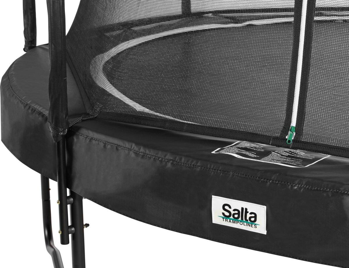 Salta trampolin med sikkerhedsnet, Ø366