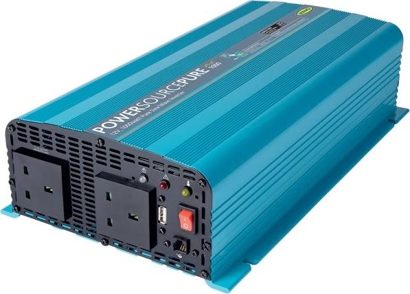 RING Omformer Pro (ren sinus) til bilen - 2000 W