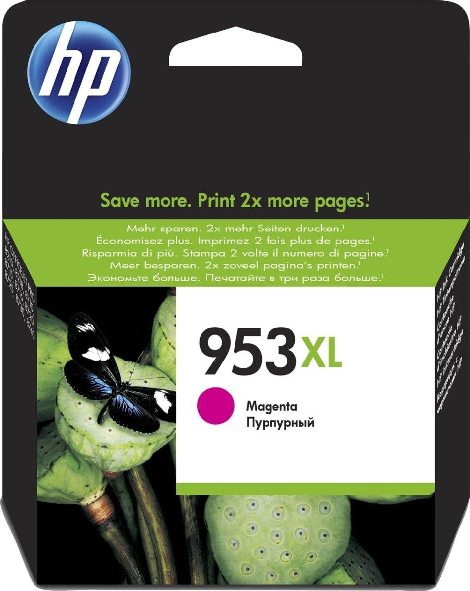 HP No953XL blækpatron blister, magenta, 1.600s
