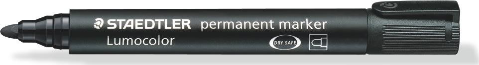 Staedtler Lumocolor marker rund, 2 mm, sort