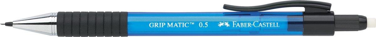 Faber-Castell Grip Matic Stiftblyant 0,5 mm, blå