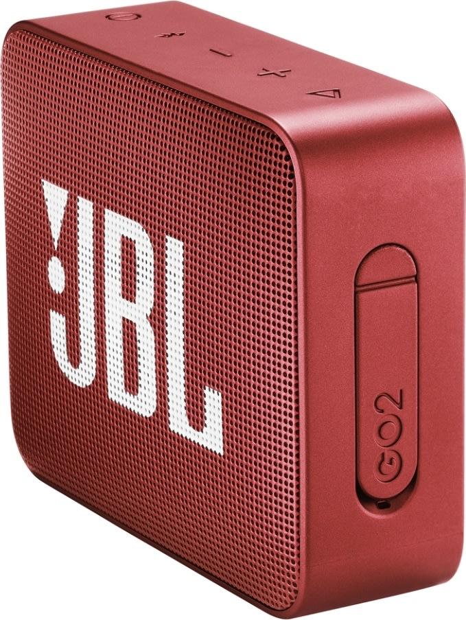 JBL GO 2 - Bluetooth højttaler, rød