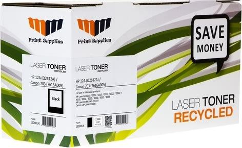 MM Q2612A / 7616A005 lasertoner, sort, 2000s