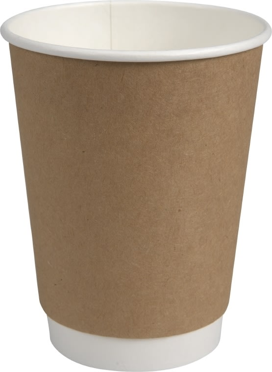 Kaffebæger, dobbelt lag, 40 cl