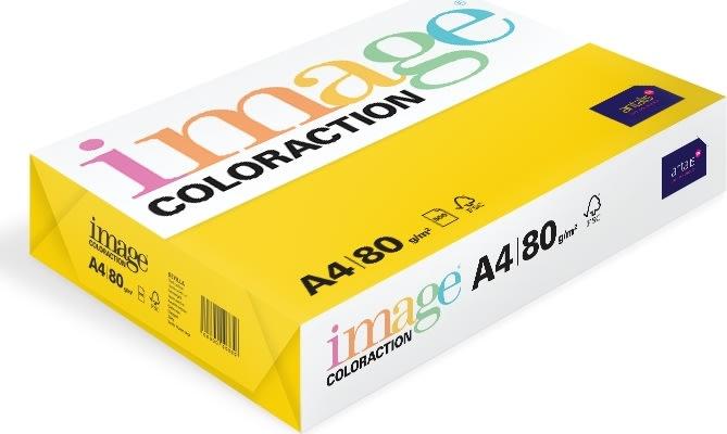 Image Coloraction A4, 80g, 500ark, rapsgul