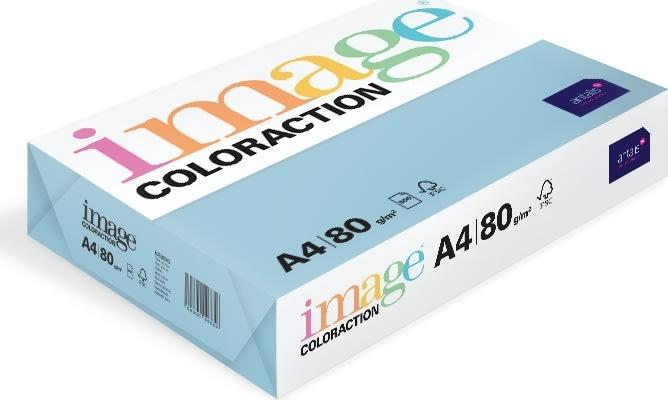 Image Coloraction A4, 80g, 500ark, oceanblå