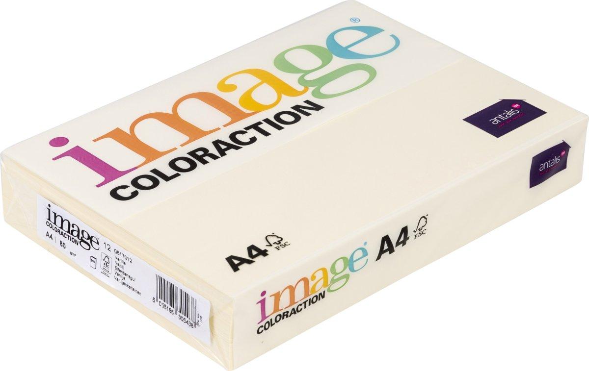 Image Coloraction A4, 80g, 500ark, elfenbensgul