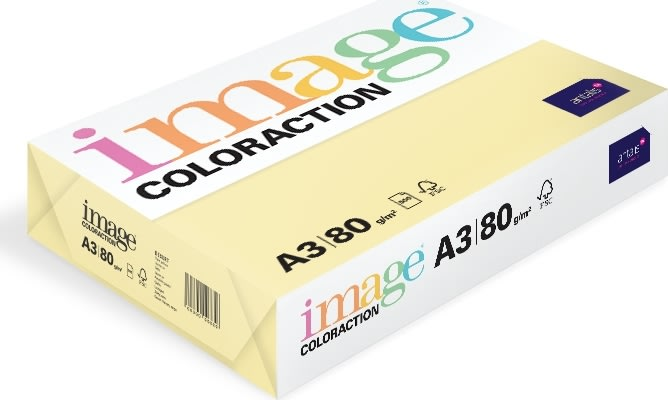 Image Coloraction A3, 80g, 500ark, majsgul