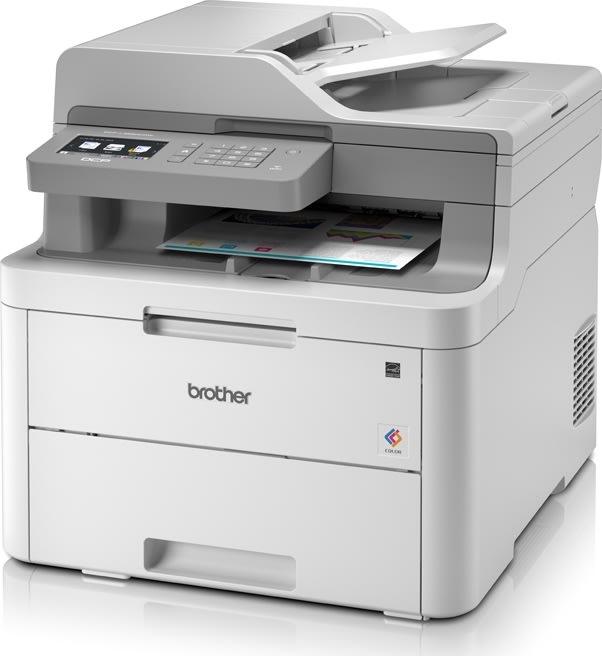 Brother DCP-L3550CDW LED-farveprinter, trådløs