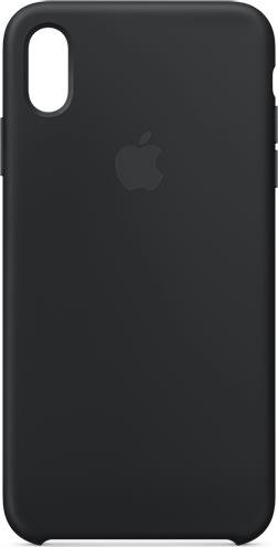 Apple cover til iPhone Xs Max i silikone, sort