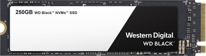 Werstern Digital Black NVMe SSD 250GB