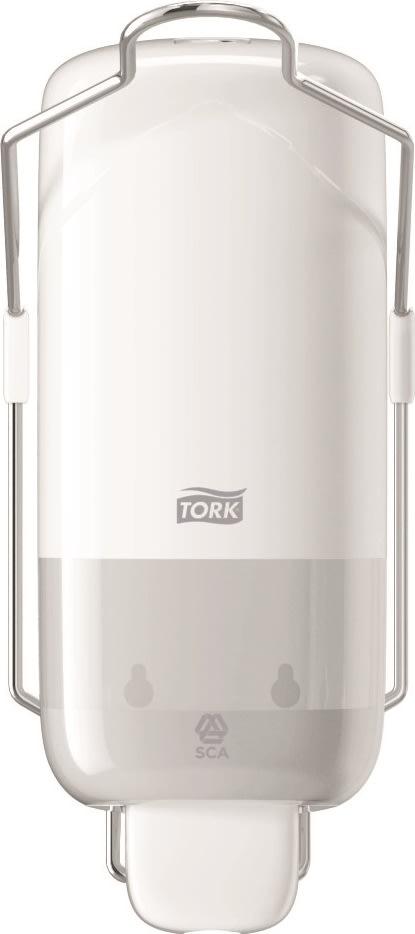 Tork S1 Dispenser Sæbe m. albuegreb, hvid
