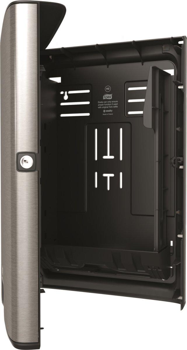 Tork H2 Xpress Dispenser Håndklædeark, stål