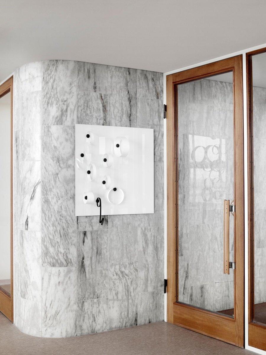 Lintex Mood Wall, 75 x 150 cm, opalhvid