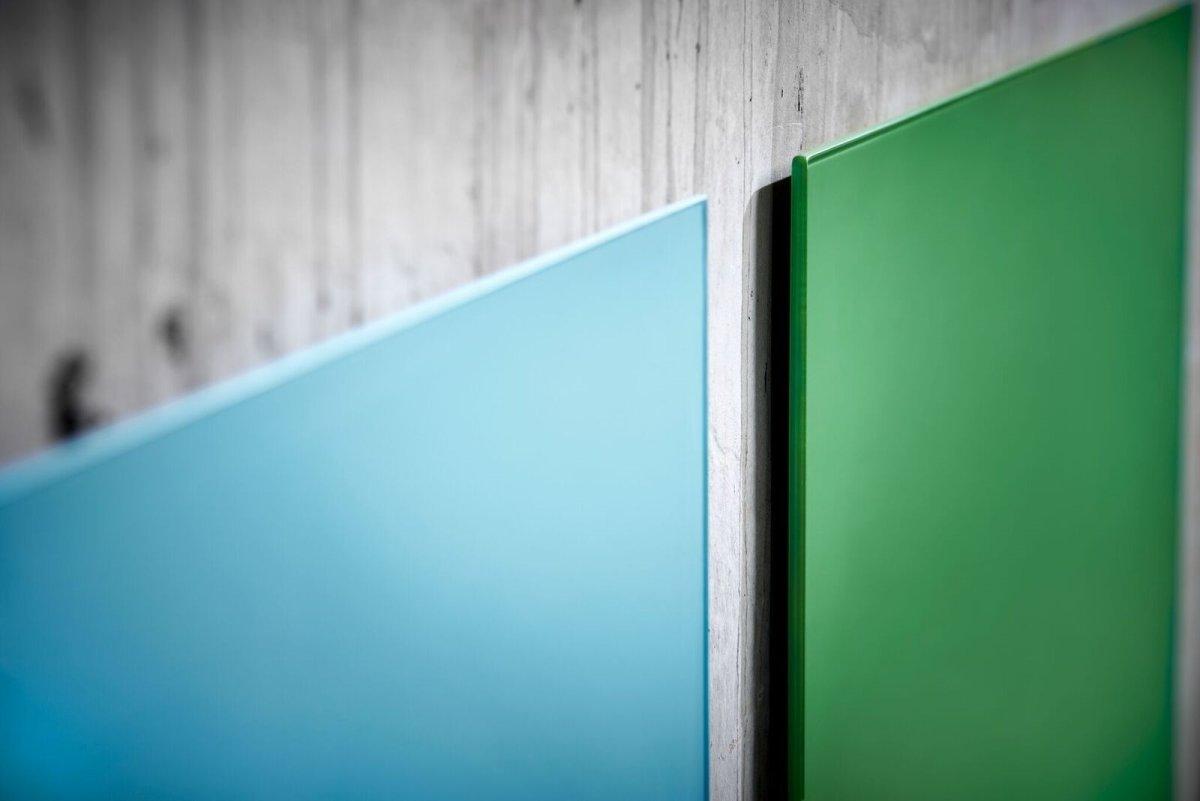 Lintex Mood Wall, 200 x 100 cm, dueblå calm
