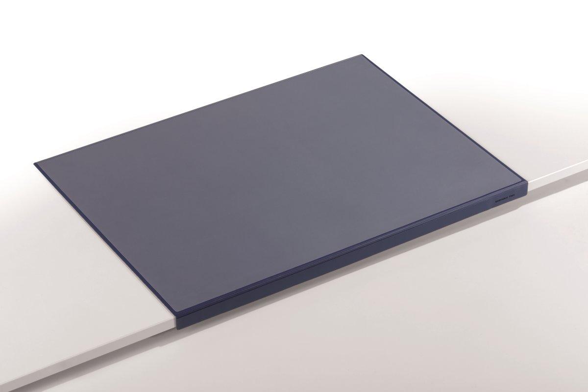 Durable Skriveunderlag m. kantbesk. 65x50 cm, blå