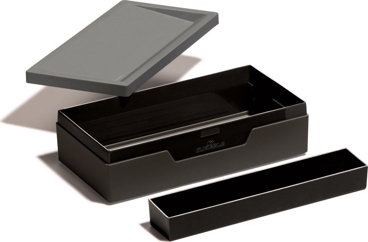 Durable Job Case Opbevaringskasse, grå