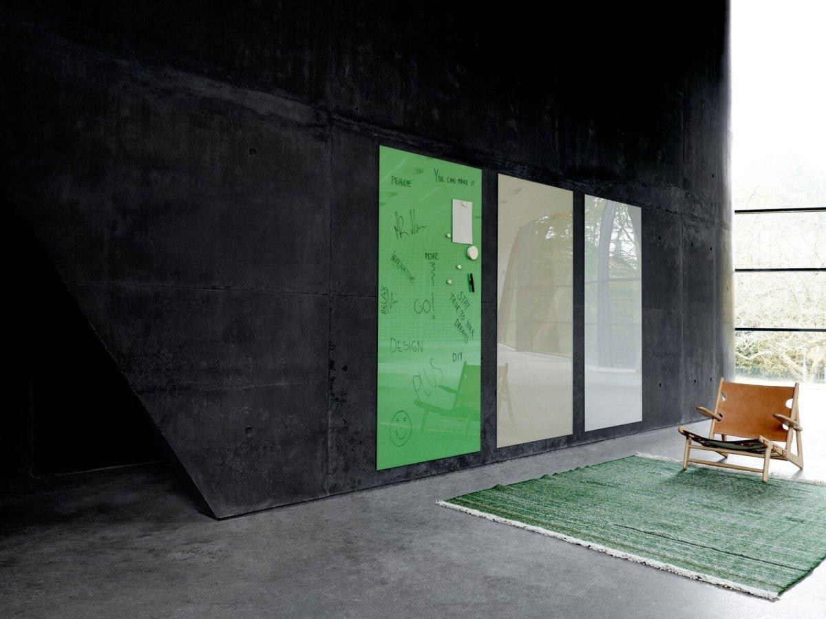 Lintex Mood Wall, 200 x 100 cm, grøn hopeful