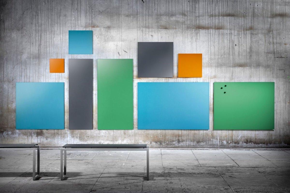 Lintex Mood Wall, 100 x 100 cm, grøn hopeful