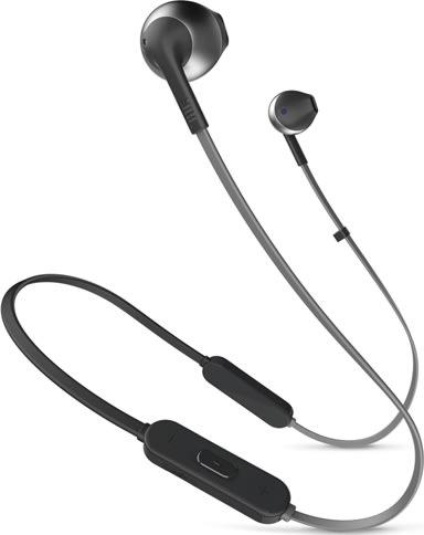 JBL Tune 205BT in-ear hovedtelefoner, sort