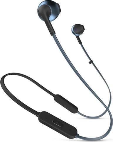 JBL Tune 205BT in-ear hovedtelefoner, blå