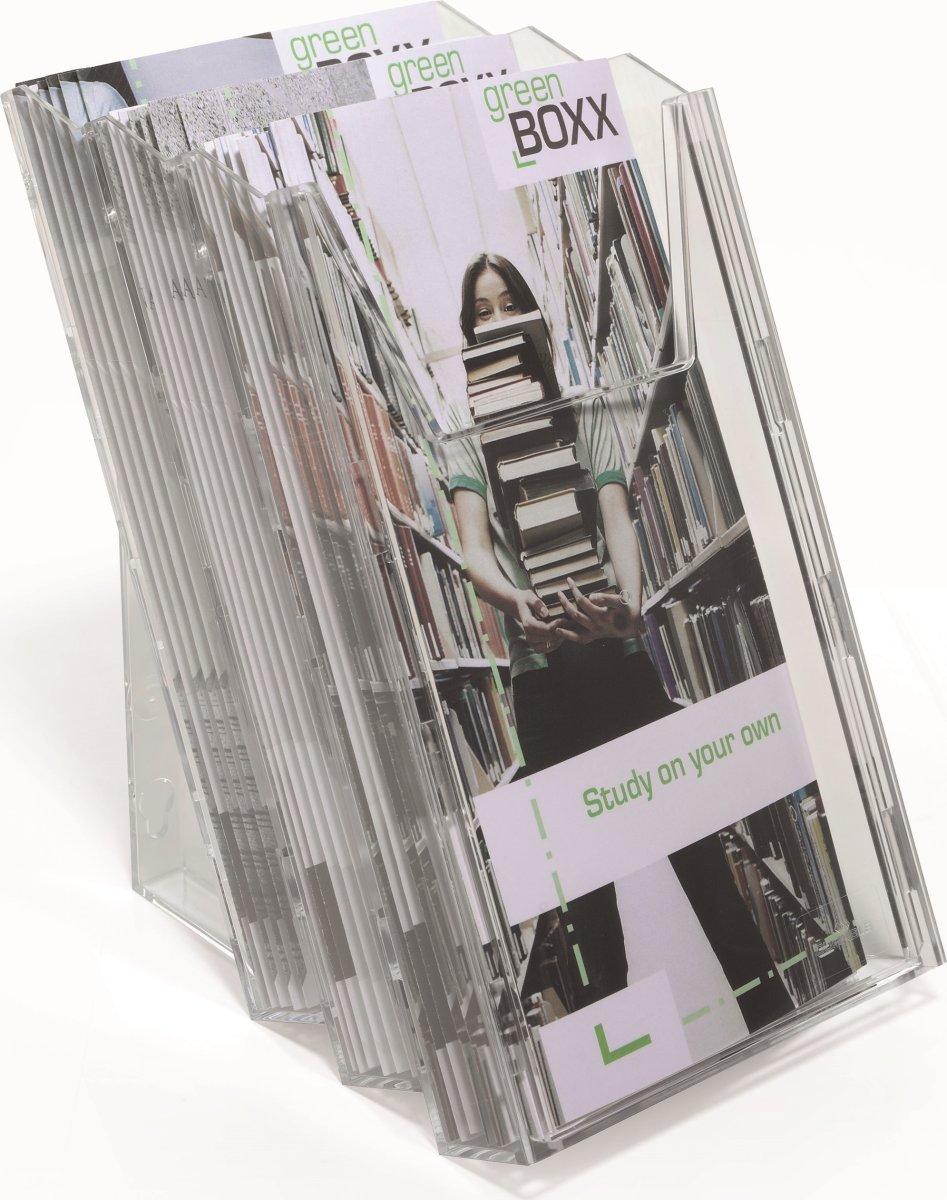 Durable Combiboxx Brochureholder 1/3 A4 Set L
