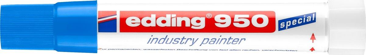 Edding 950 Industri Marker, blå