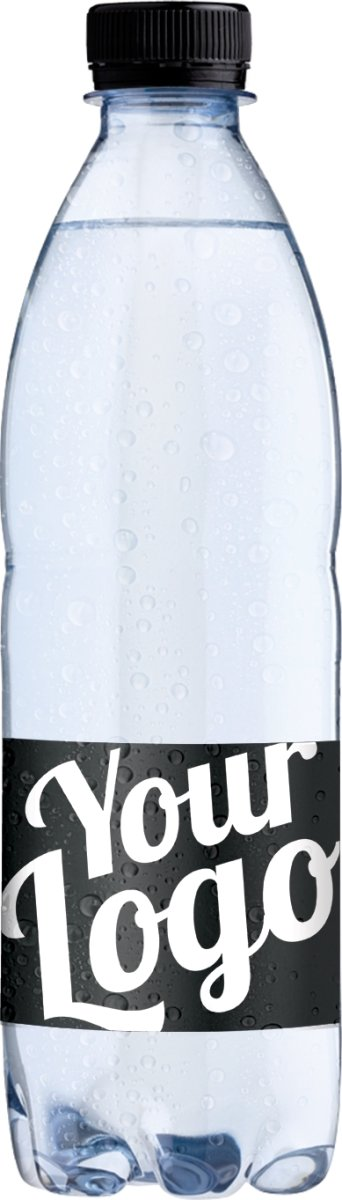 Logo vand med eget design 0,50 ltr. inkl. pant