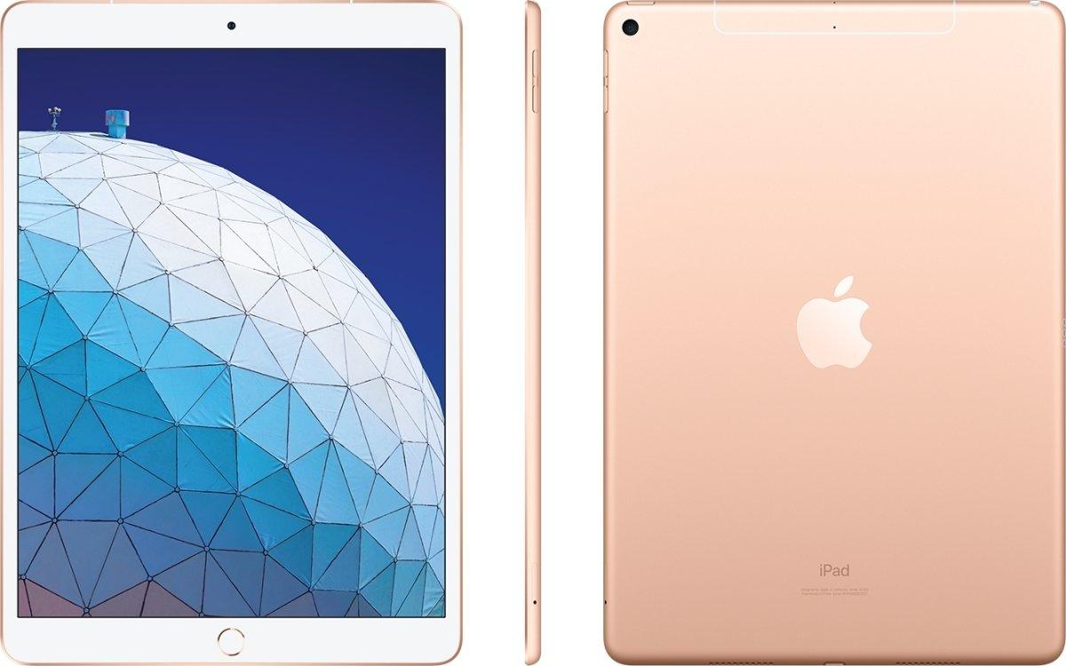 Apple iPad Air, 64GB, Wi-Fi + Cellular, Guld