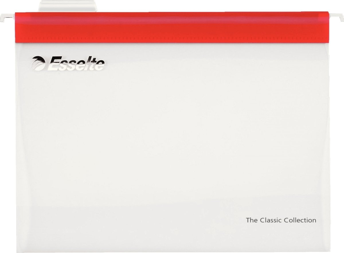 Esselte Easyview hængemapper A4, 10stk., rød