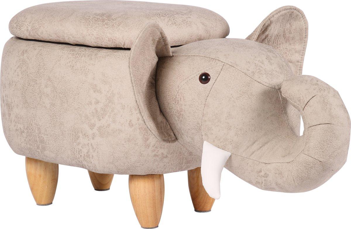 Elefantskammel med opbevaring