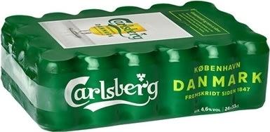 Carlsberg Pilsner 33 cl inkl. pant