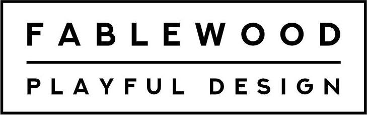 FableWood Designerlegetøj i valnød og ask, 3 stk.