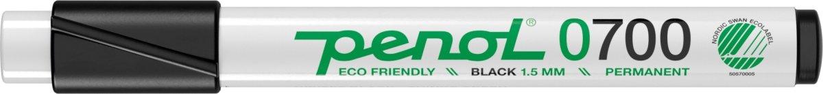 Penol 0700 Permanent Marker, sort