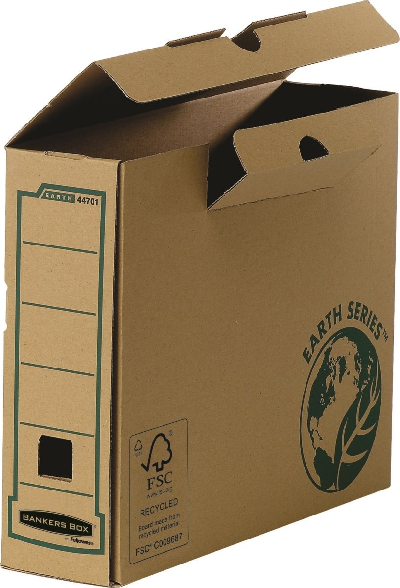 Bankers Box Earth Arkivæske 80 mm