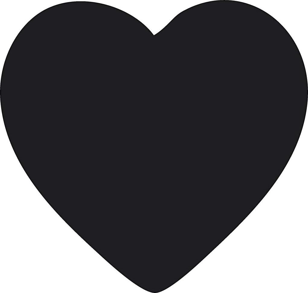 Fiskars Vippestansejern, 25 mm, hjerte