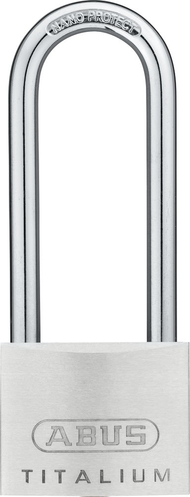 ABUS hængelås 64TI, 50 mm, Høj bøjle