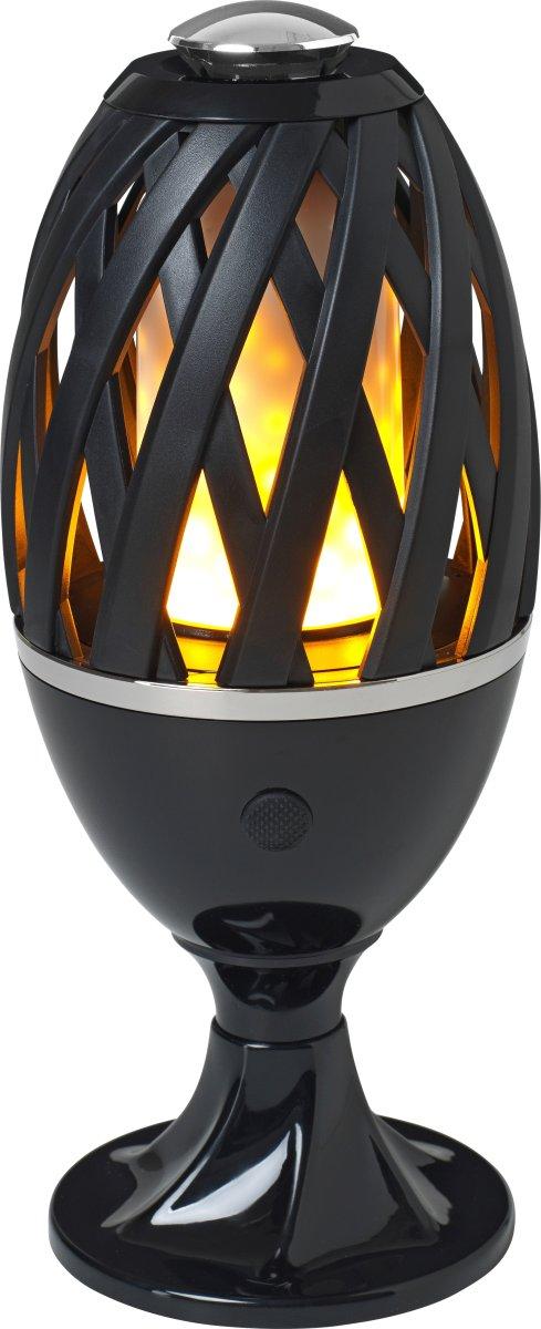 The Flame Bordlampe/Havespyd, Sort