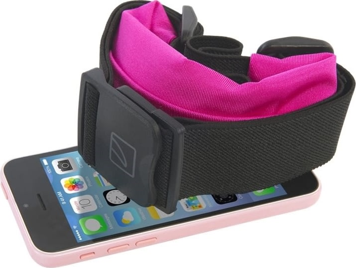 "Tucano 6"" smartphone sportsbælte, lyserød"