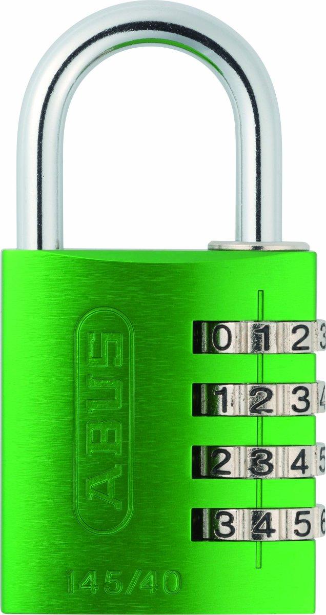 ABUS kodelås 145/40, Grøn