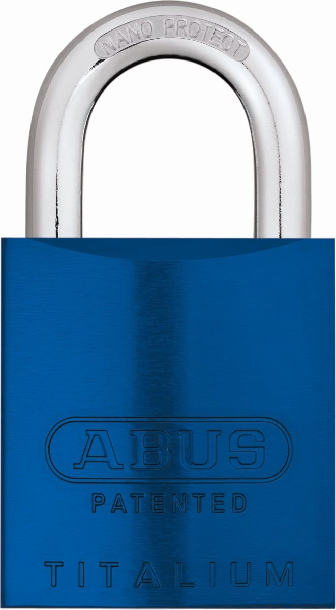 ABUS hængelås 83AL/45 S-DK, Blå