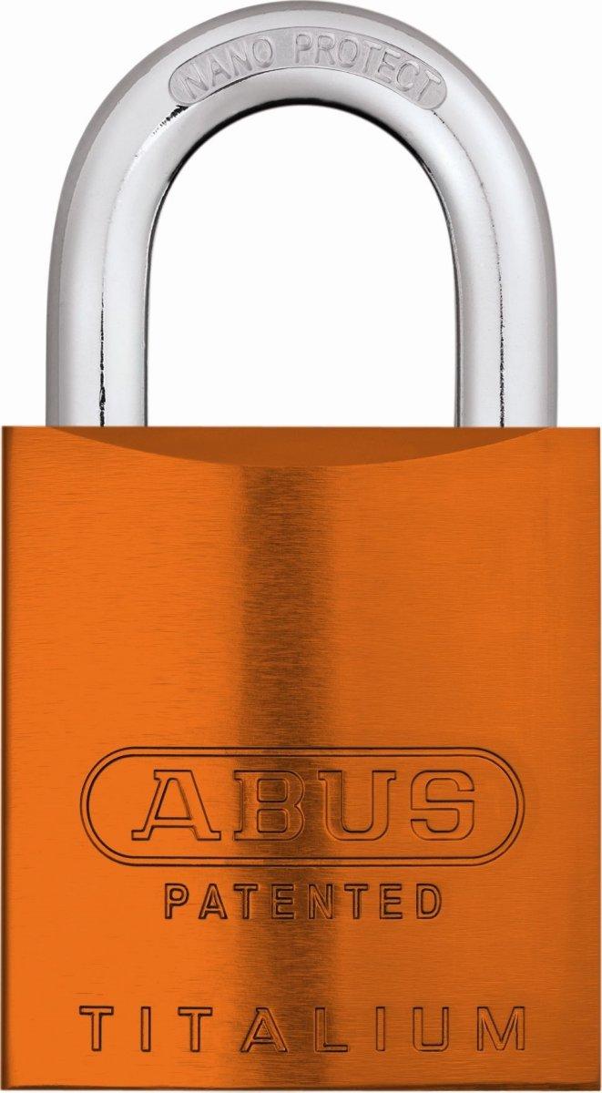 ABUS hængelås 83AL/45 S-DK, Orange